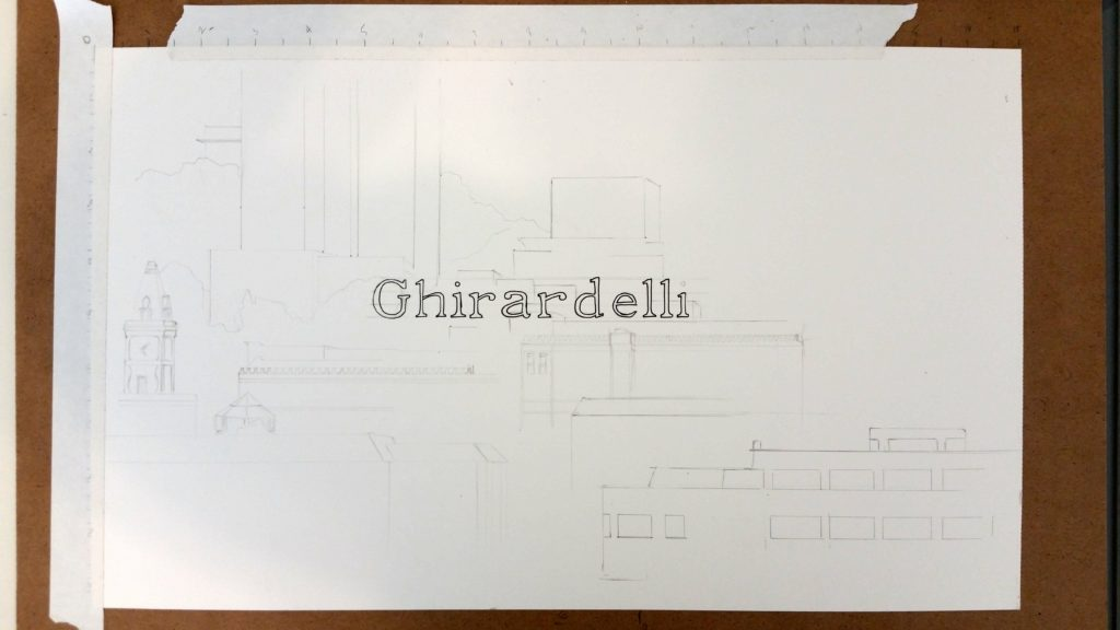 Ghirardelli - Initial Drawing