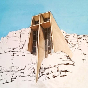 Chapel of the Holy Cross WIP 3